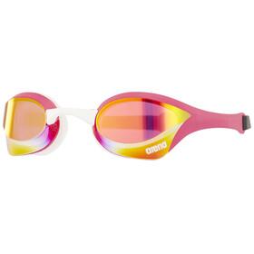 arena Cobra Ultra Mirror uimalasit , vaaleanpunainen